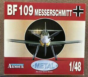 ARMOUR / FRANKLIN MINT #98011 Messerschnitt BF109 1/48