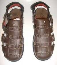 St. Johns Bay Brock Brown Sandals Size 11