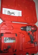 Milwaukee 2601-20 18V Drill & 48-59-1801 Battery Charger Reconditioned w Case