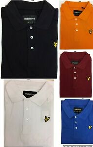 LYLE AND SCOTT SHORT SLEEVE REGULAR FIT POLO SHIRT (plain collar) FOR MEN