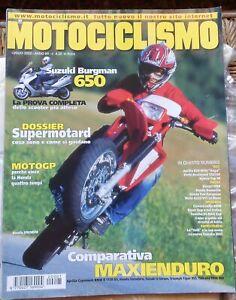 MOTOCICLISMO 7 02 APRILIA DERBI KYMCO 50 DUCATI HONDA GUZZI YAMAHA BMW NORTON