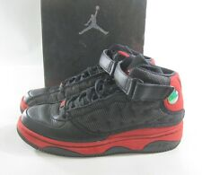 Air Jordan AJF13 black varsity red white 375453-061     size 9  p