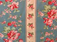 RPG681D Country Chic French Floral Shabby English Garden Cotton Quilt Fabric
