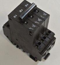 Phoenix Contact Cat: TMC 3 M1 122 25A 3 pole 25 A Din Rail Circuit Breaker