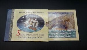 Neuseeland - Untergang der General Grant - 10 Dollar