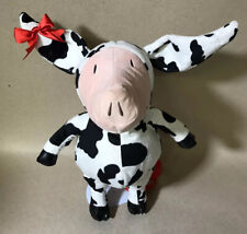 """2011 Olivia the Pig Cow Costume 17"""" Plush Backpack"""