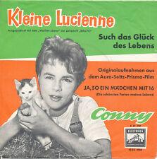 """7"""" - CONNY - Such das Glück des Lebens / Ja, so ein Mädchen mit 16 - DE 1959"""