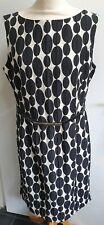 Gorgeous BNWT Phase Eight Orla Jacquard Dress Black/ivory Size 16 RRP £99