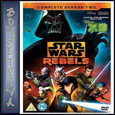 STAR WARS REBELS - COMPLETE SEASON 2  *BRAND NEW DVD**