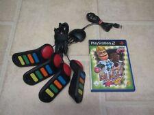 Buzz el Sport-Quiz + 4 timbre para PlayStation 2 ps2 PS 2 * embalaje original *