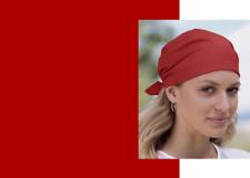 """RED SOLID 22"""" BANDANA Cotton Head Neck Wrap Scarf Scarve Handkerchief Hanky Cap"""