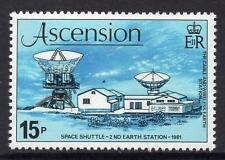 "ASCENSION 1981 MNH SG281 ""Space Shuttle"" Mission / Opening of 2nd Earth Station"
