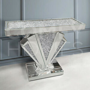 Shell Crushed Crystal Top Console Table - FREE DELIVERY AVAILABLE!