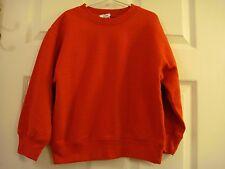 Kid's Unisex Kid n' Me Sportswear Red Sweatshirt Size XS (4-6) New