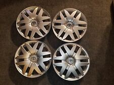 "Set Of 4 New 2004 05 06 07 08 09 2010 Sienna 16"" Hubcaps Wheel Covers 61124"
