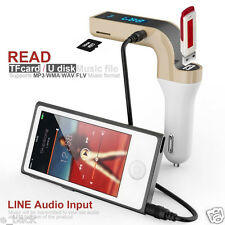 G7 Car Kit Bluetooth Handsfree FM Transmitter Radio MP3 Player USB Charger Hot