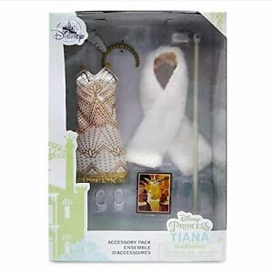 Official Disney Princess And The Frog Tiana Outfit Accessory Pack