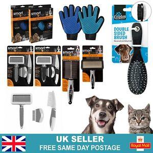 Pet Grooming Brush | Short & Long Hair Brush | Cat Kitten Dog Puppy Fur Brush
