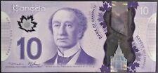 Canada $10 Dollars GEM UNC 2013 P 107a Polymer sign Macklem & Carney