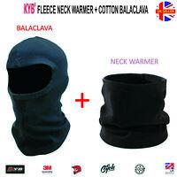Facemask Balaclava Fleece Neck Warmer Thermal Motorcycle Motorbike Ski Face Mask