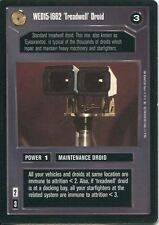 Star Wars CCG Premiere Black Border WED15-1662 Treadwell Droid