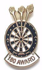 Darts 180 Award Enamel Lapel Pin Badge