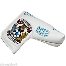 NEW COVENTRY CITY FC GOLF BLADE PUTTER COVER + MARKER