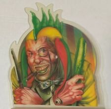 Marillion Jester-shaped import picture disc single