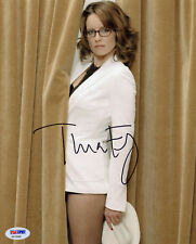 Tina Fey Signed PSA/DNA COA Sexy Fish Net 8X10 Photo Auto Autograph Autographed