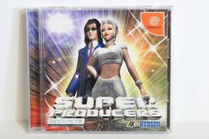 Super Producers W/ Spine SEGA Dreamcast DC Japan Import US Seller SHIP FAST