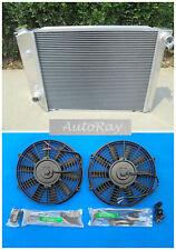 Radiator+Fans Ford Falcon XA/XB/XC/XD/XE Fairmont Cleveland 302/351 V8 72-84 AT