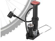(R5) Mini Fahrrad Standluftpumpe Fußluftpumpe Pumpe Manometer Luftpumpe
