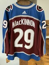 Nathan MacKinnon Colorado Avalanche NHL Adidas Home Jersey 50 M $225 BNWT
