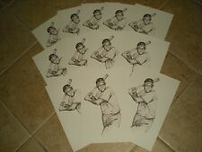 MLB Willie Mays (New York Giants) Post Cards (Lot Of 24)