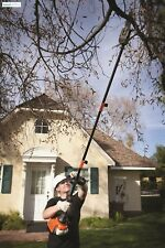 Gas Pole Saws For Tree Trimming 2 Cycle 8 Inch Branch Cutter Chainsaw Power Tool