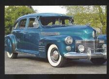 1941 CADILLAC SERIES 61 SEDAN CAR DEALER ADVERTISING POSTCARD COPY '41 CADDY