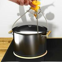 Hot Dish Clip Stainless Steel Bowl Holder Clamp Pot Pan Gripper Kitchen Tool