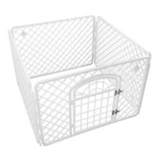 Portable Exercise Playpen Pet Dog Puppy Folding Fence Play Pen Kennel Crate Cage
