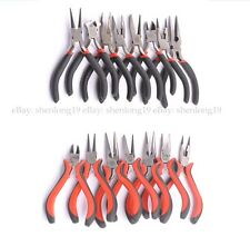 (15 Style)  Bent, Snipe Pliers, End and Side Cutters Jewellery Making Tools 1Pcs