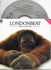 LONDONBEAT - This is your life CD SINGLE 2TR Dutch Cardsleeve 1991
