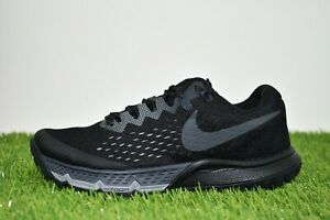 New Women's Nike Air Zoom Terra Kiger 4 Size 5 Black/Anthracite 880564-010