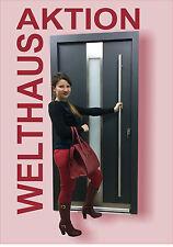 Door External Solid WH 75 LA124 Entrydoor Modern Aluminum + UPVC WELTHAUS