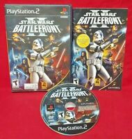 Star Wars Battlefront II 2 -  Playstation 2 PS2 Game Working Tested - 1 Owner