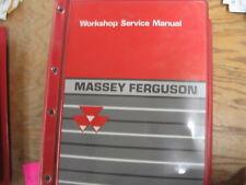 Massey Ferguson M F 1000 Series Compact Tractors Workshop Service Manual