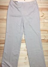 Jones New York Womens 10 Classic Fit Stretch Dress Pants Career Flat Front NWT
