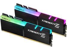 G.Skill Trident Z RGB 16GB 2x8GB DDR4 3000MHz CL16 Gaming Desktop Memory RAM Kit