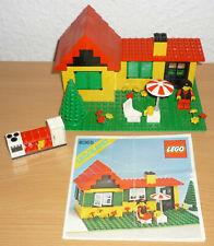 Lego City 6365 Einfamilienhaus (gelb) v. 1981 + OBA
