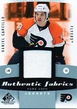 Daniel Carcillo 10/11 SP Game Used Authentic Fabrics #AF-DC