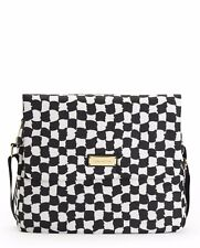 NWT Juicy Couture Nouvelle Pop Black White Nylon Baby Diaper Bag Tote - ($248)