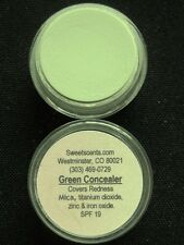 MINERAL MAKEUP~5 gram~LOOSE POWDER~MICA~HIDE REDNESS~BARE~VEGAN~GREEN CONCEALER
